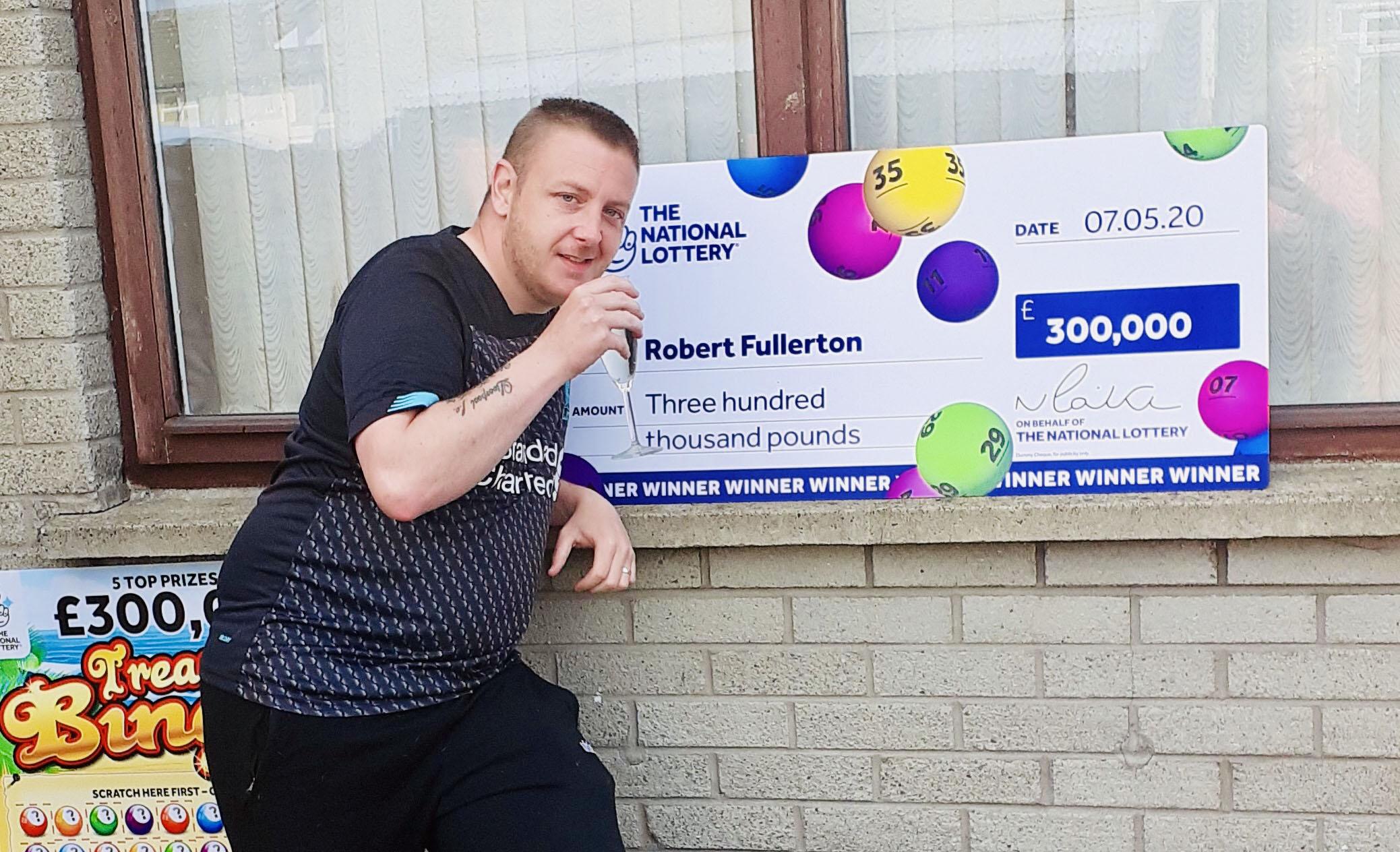 Robert Fullerton - lottery winner #2