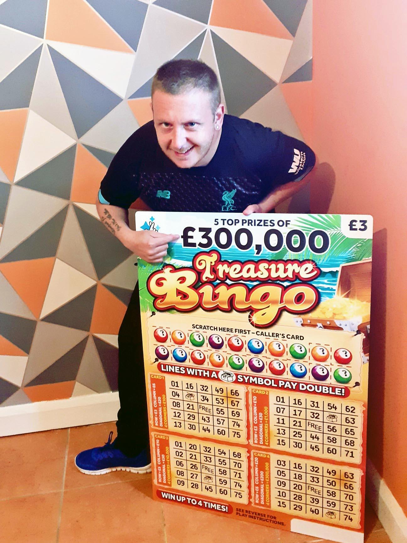 Robert Fullerton - lottery winner #3