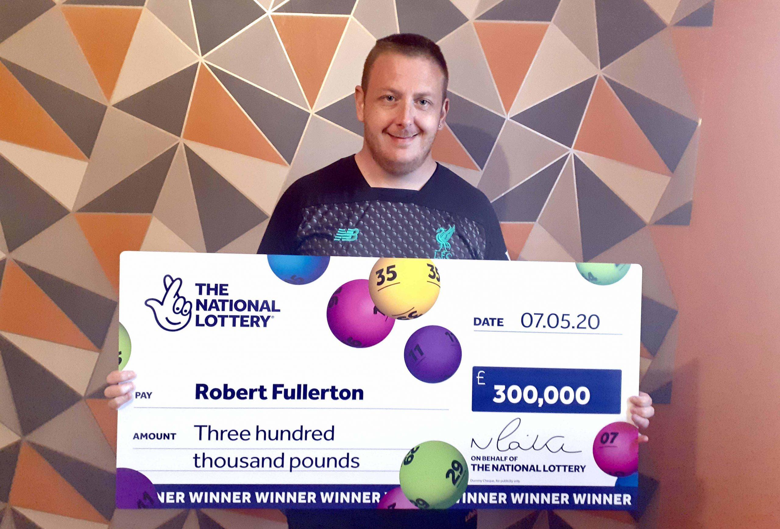 Robert Fullerton - lottery winner #4