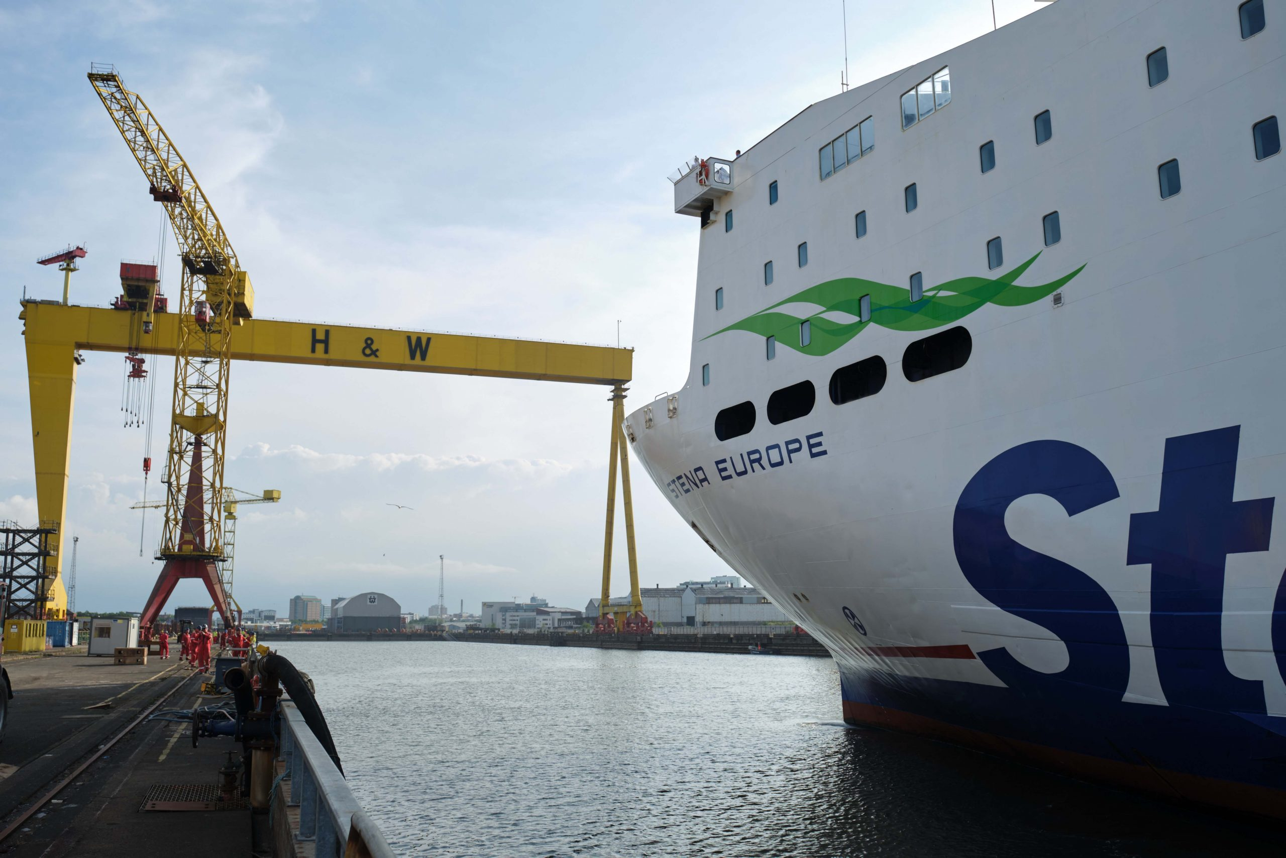 Stena Line supports local industry with multi-ship docking programme - 1