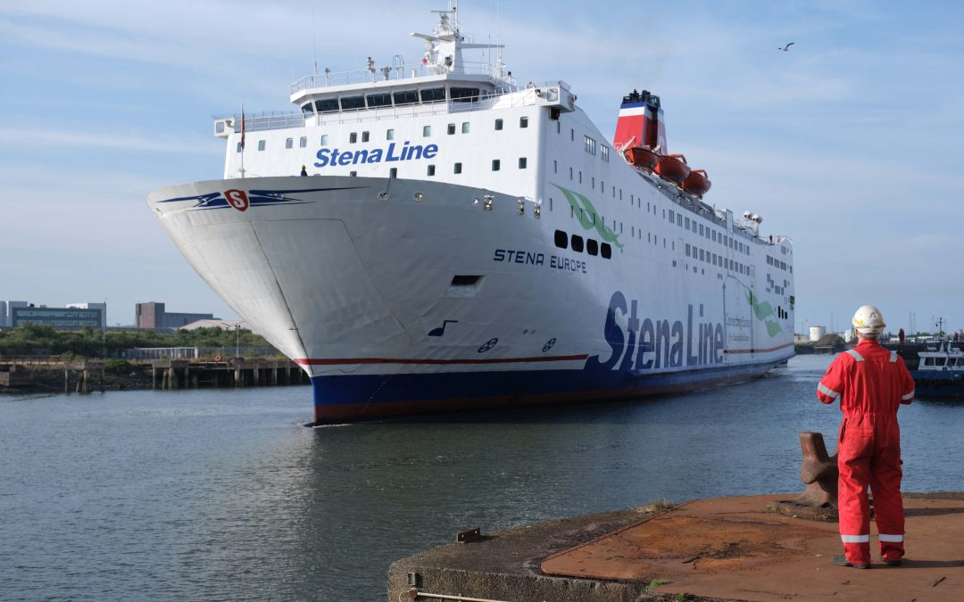 Stena Line supports local industry with multi-ship docking programme