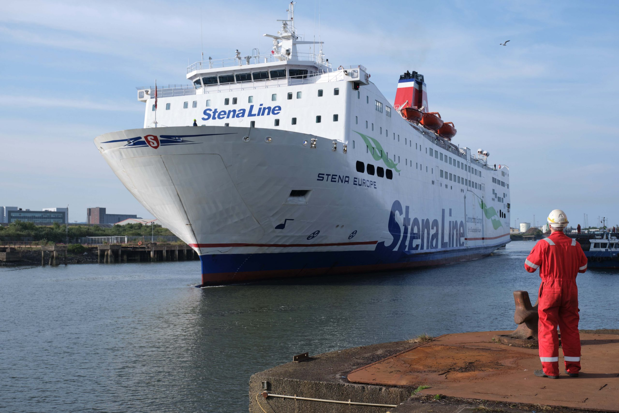 Stena Line supports local industry with multi-ship docking programme - 2