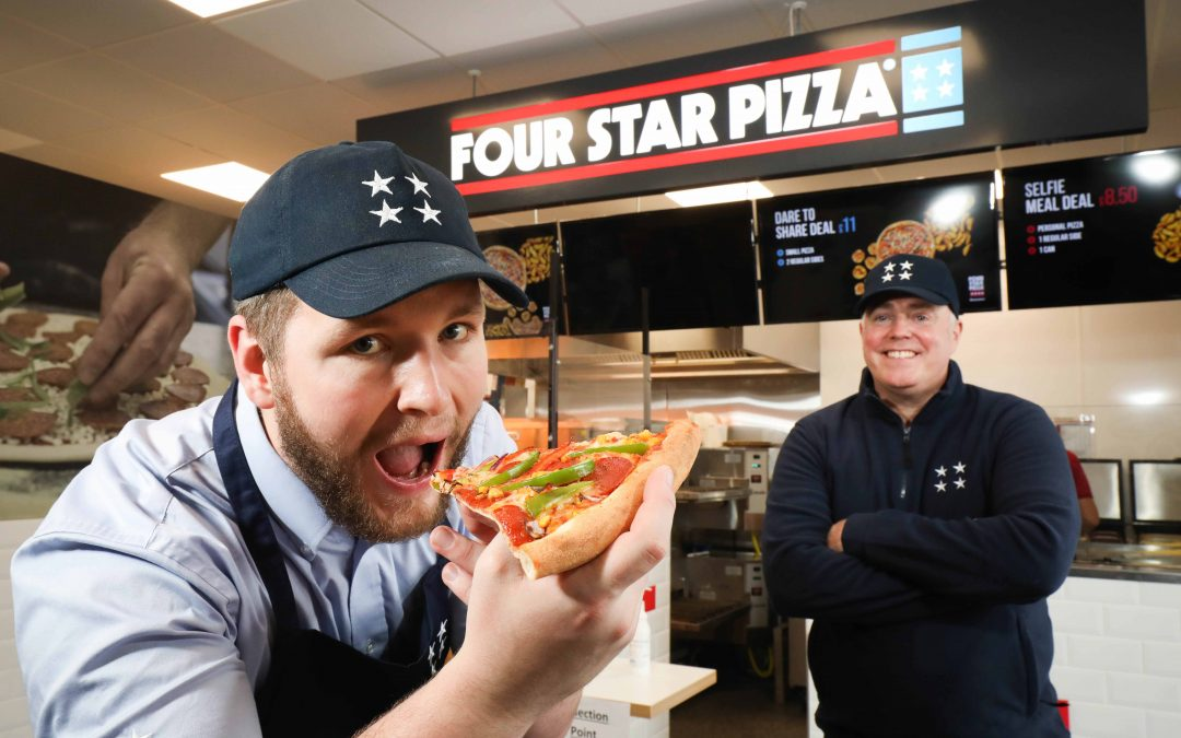 10 new jobs as Four Star Pizza comes to Craigavon!