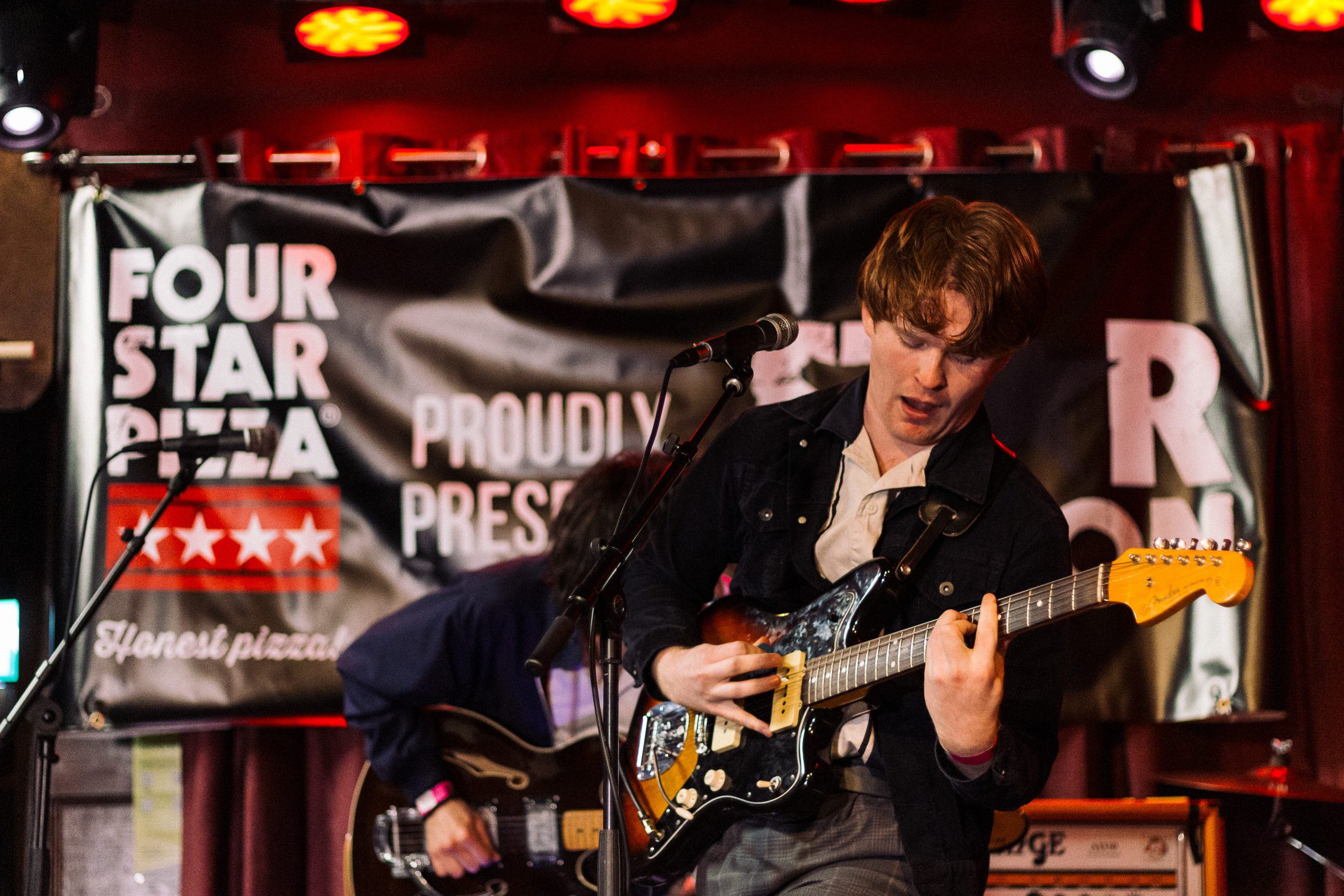 Connacht representatives Classic Yellow from County Galway perform in the Grand Final of Star Nation 2020 at the Roisin Dubh in Galway. The all-Ireland music competition organised by Four Star Pizza was won by Rachel Grace, a young singer songwriter from County Wexford.