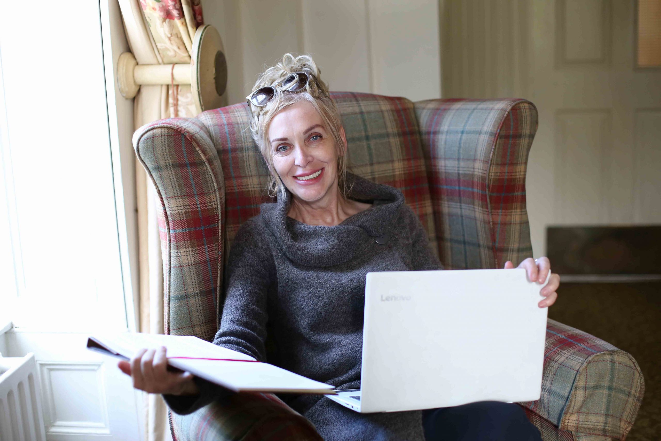 TICKET TO WRITE: National Lottery winner Anne Canavan made an emotional return to the Beech Hill Country House Hotel where five years earlier, she announced that she had won a life-changing £1M on EuroMillions. Inventor Anne, who is also working on a number of writing projects, says that the money she won has afforded her the freedom to spend more time with the people she loves, travel the world and pursue her passions.