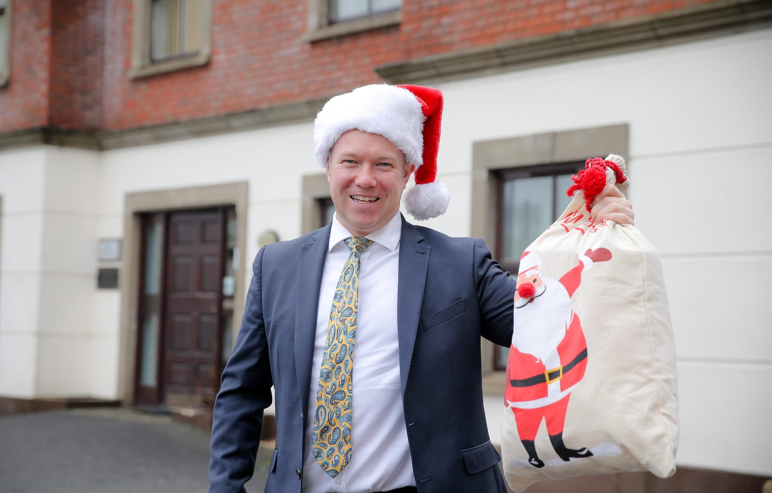 TAX-FRIENDLY CHRISTMAS: Gary Laverty, director at Exchange Accountants, claims that Christmas can be a season of goodwill for NI companies if they take advantage of some seasonal benefits on offer from HMRC.