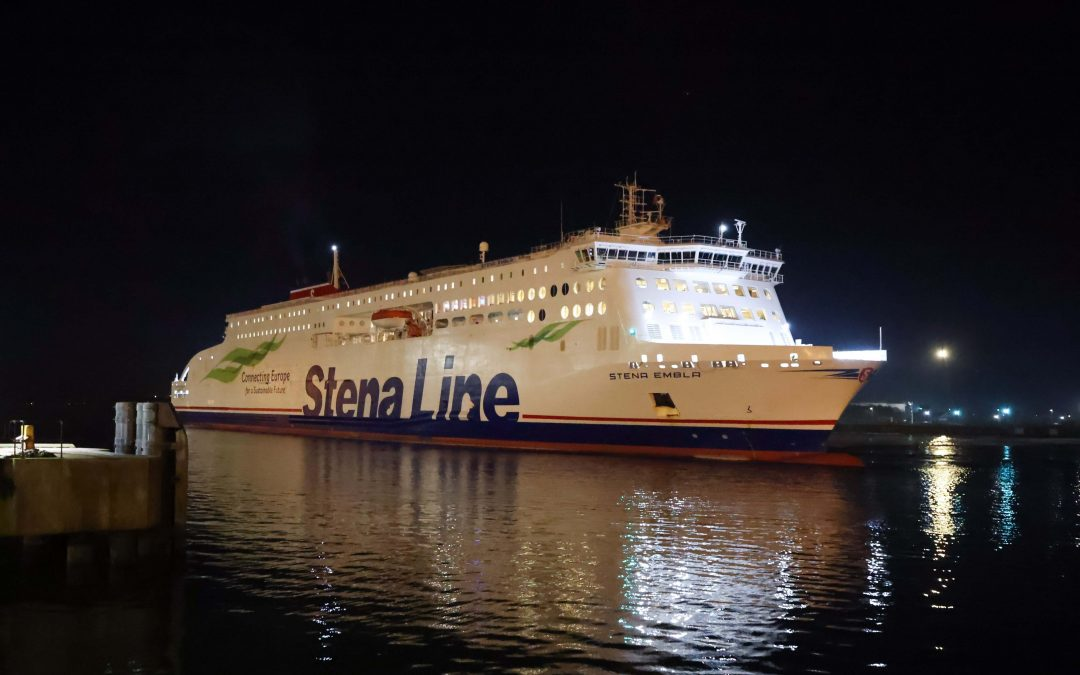 New ferry Stena Embla makes inaugural sailing on Belfast to Liverpool route