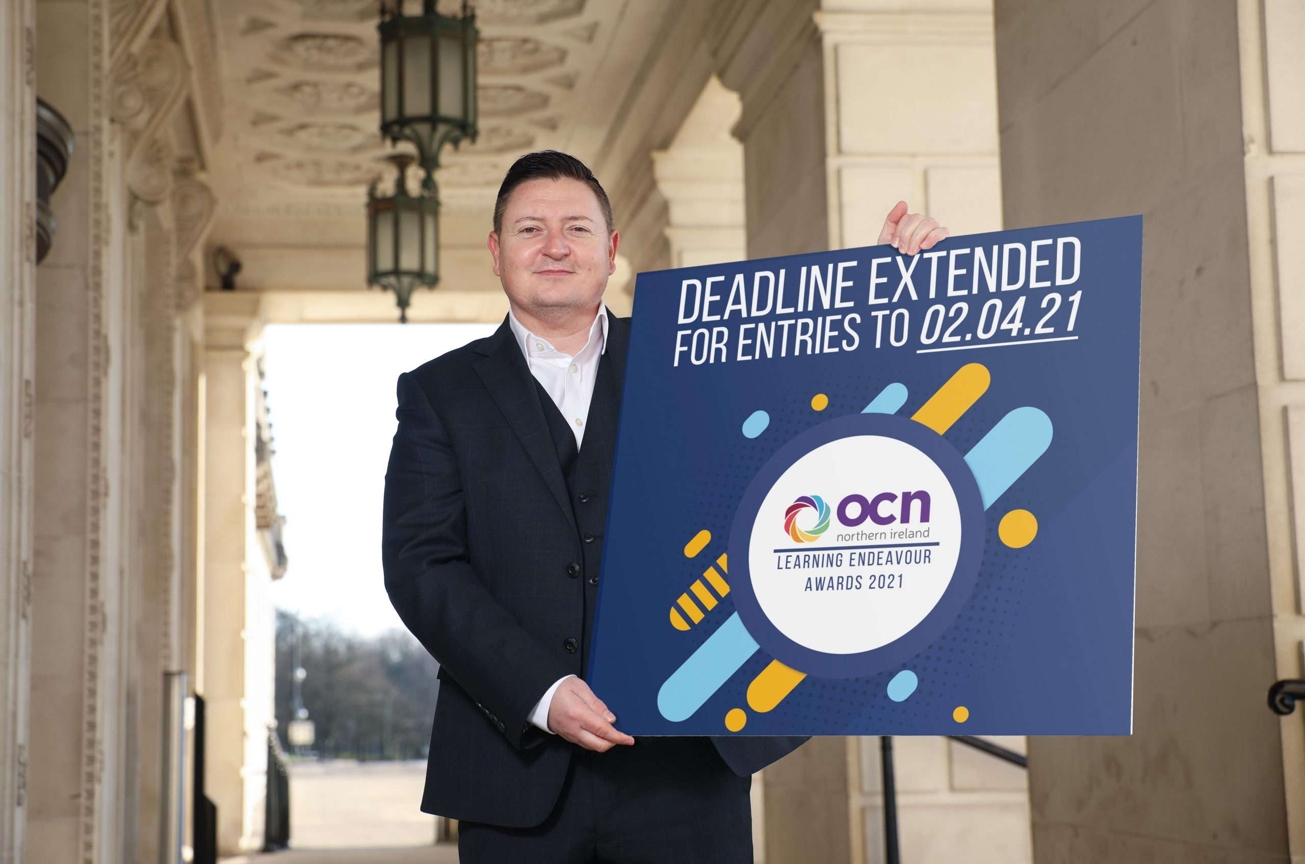 "Martin Flynn, CEO of OCN NI has announced that due to high numbers of entries they are extending the nomination deadline to their annual Learning Endeavour Awards to 12 noon on Friday the 2nd April. He said: ""Thank you to everyone that has submitted a nomination so far – we're delighted to say that it looks like this will be a record-breaking year for entries! The calibre of entries is already extremely high, and we wish all participants the best of luck."" There is still time to nominate someone for one of the prestigious awards, as organisations now have until 12 noon on Friday the 2nd April, before the application process closes. The awards provide a great opportunity for organisations to promote themselves, celebrate the achievements of learners and end the academic year on a really positive note. For more information visit https://www.ocnni.org.uk/learner-awards-2021/"