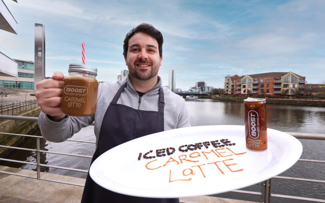 Iced Coffee gets a BOOST with new Caramel Latte flavour