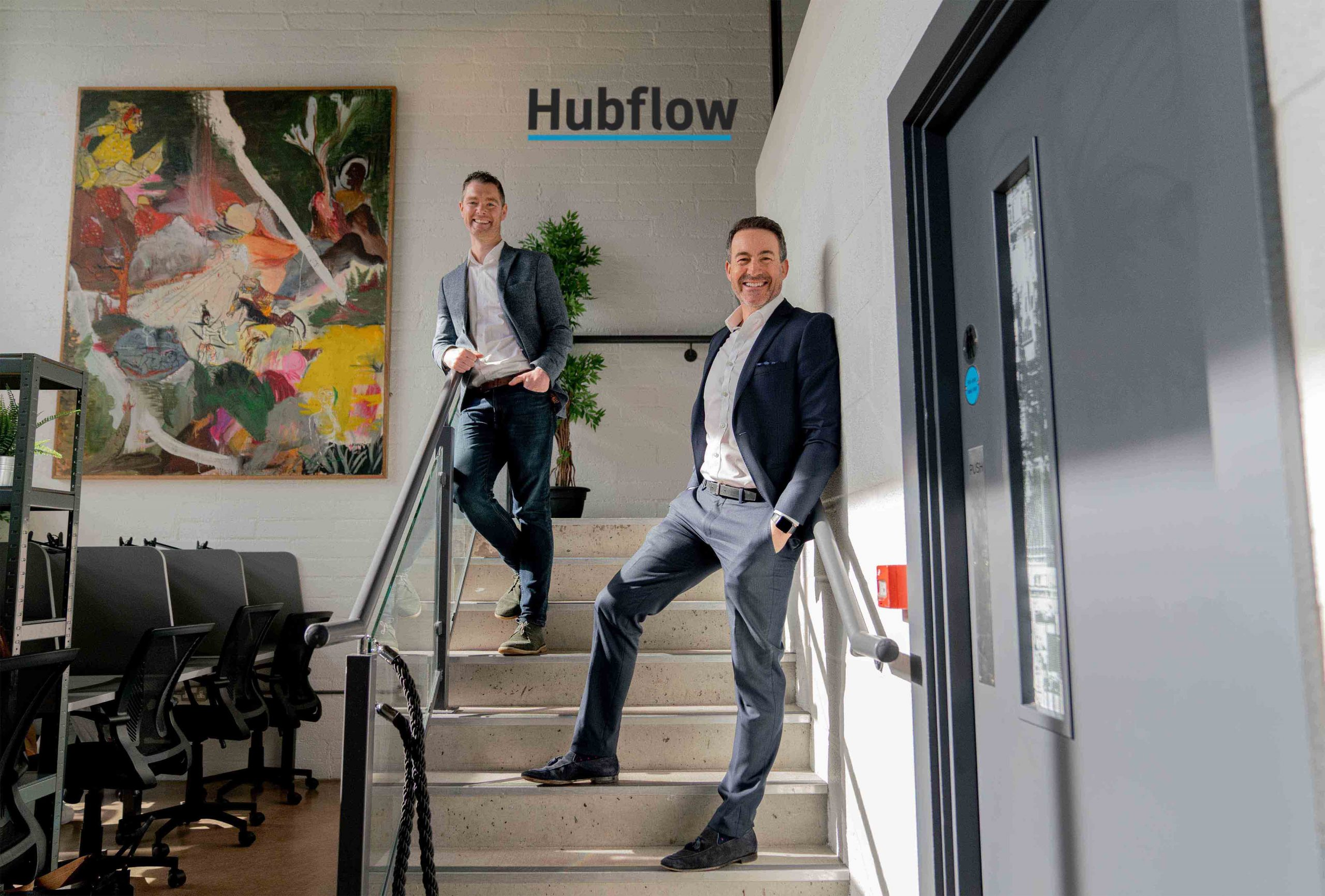 GOING WITH THE 'FLOW': The traditional office working model is dead, according to Declan Mellan (left) and Gary McCausland, founders of Belfast-based Hubflow, a new hybrid working facility that offers companies, freelancers and entrepreneurs the flexibility to book anything from a single desk for one day to a dedicated full-time office suite for up to eight staff, with superfast Wi-Fi, full business support and access to key office facilities including complimentary tea, coffee and filtered water. With many businesses reviewing their office working practices to reduce overheads and increase efficiency, Hubflow has experienced a high demand for its services since launching at the end of 2020, and is expected to create at least 12 full and part time jobs over the next 12 months. For more information on Hubflow, or to book a free 'no obligation' tour with complimentary barista coffee from Koffee Hub, interested parties can go to www.hubflow.co.uk, call 033 0088 7358 or send an email enquiry to info@hubflow.co.uk.