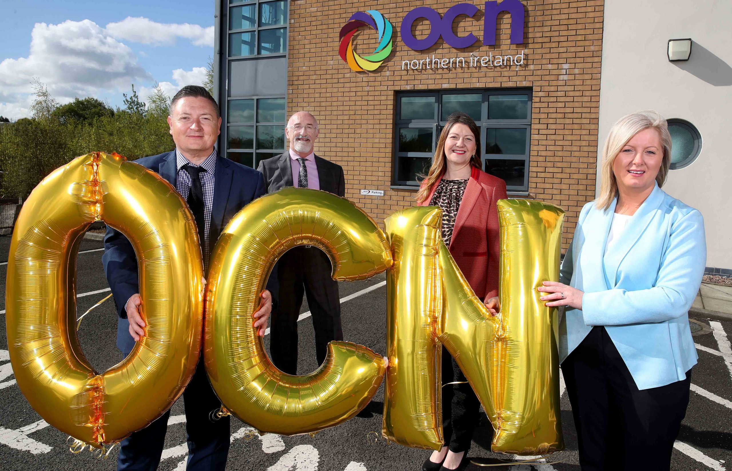 """OPEN COLLEGE NETWORK NI (OCN NI) has been awarded 'We invest in people, gold accreditation' by Investors in People, a status only 17% of accredited organisations have achieved. OCN NI is an educational charity and awarding body that advances education by developing qualifications for adults and young people throughout NI and has recently become Northern Ireland's leading awarding body. Martin Flynn, CEO, OCN NI, said: """"I am really very proud that our team has achieved the Gold accreditation from Investors in People. Everyone at OCN NI has shown how hard-work and commitment helps improve all of our working lives, especially poignant during a pandemic, and I'd like to send a personal note of thanks to all of my colleagues"""", he concluded. For more information visit www.ocnni.org.uk. Celebrating their gold accreditation are OCN NI colleagues (l to r), Martin Flynn, CEO, Simon Hamilton, Director of Compliance and Audit, Jo Bailey, Director of Business Development and Charlotte Fegan, Director of Corporate Services."""