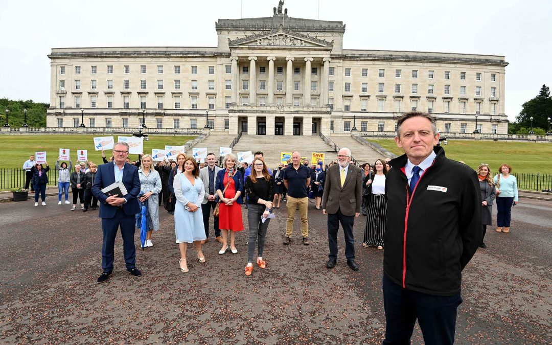 Day of Action at Stormont for NI Travel Industry
