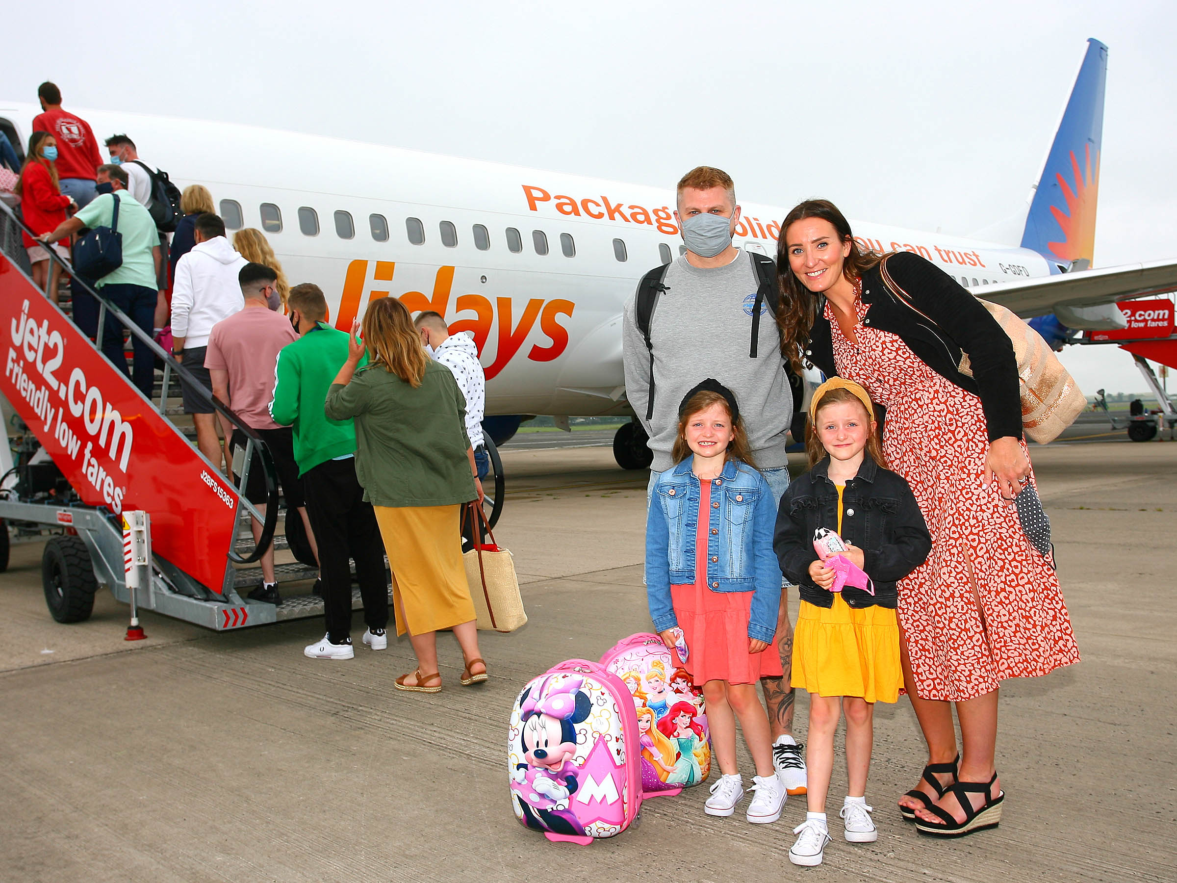 Jet2.com and Jet2holidays take to the skies again from Belfast International Airport!