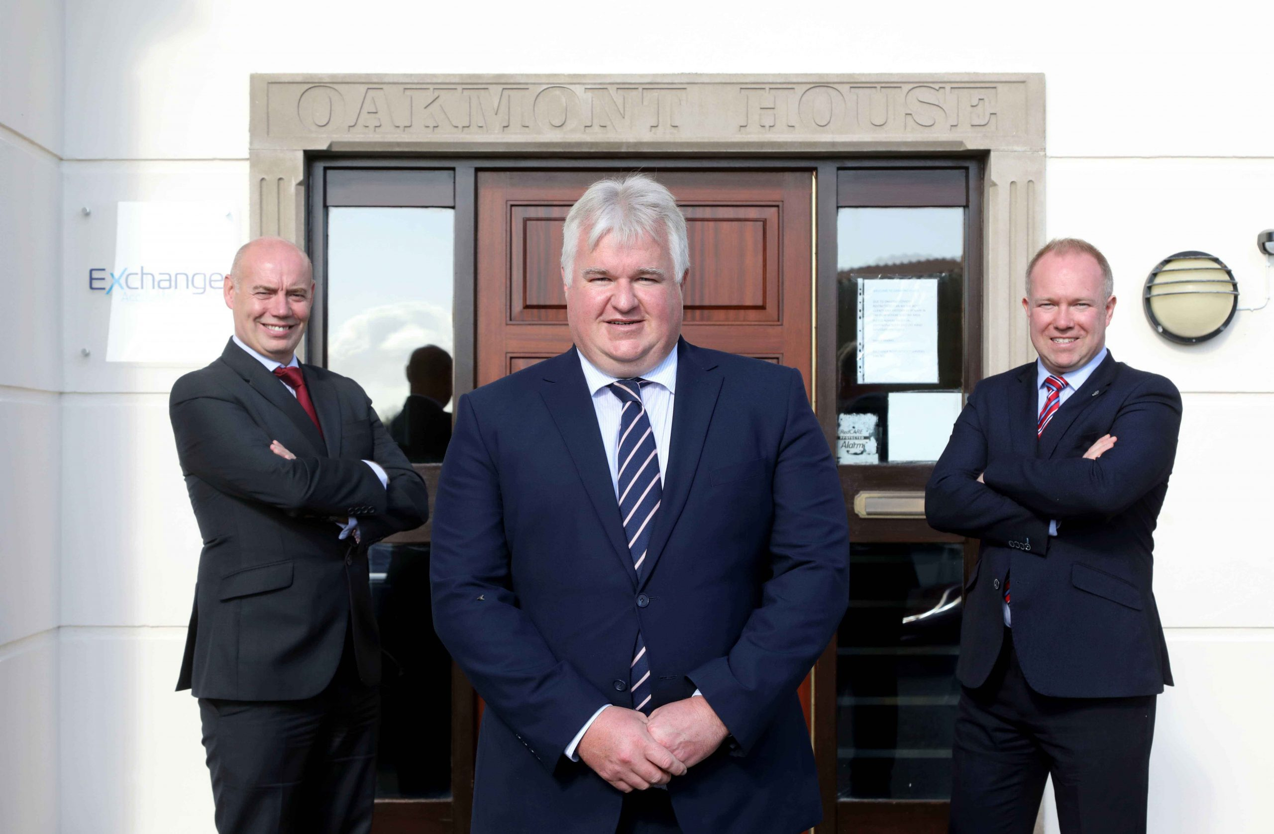 NEW DECADE, NEW DAWN, NEW OFFICES: One of Northern Ireland's leading digital accountancy specialists Exchange Accountants is looking forward to a 'new era' in fresh new offices as it celebrates a significant company milestone. Exchange Accountants was established in Belfast in September 2011 by founding directors William Gould (centre), Conor Walls (left) and Gary Laverty (right), who will be cutting the company's 10th birthday cake this month in new headquarters at Oakmont House in Lisburn. The past 10 years has seen the company build its reputation in the field of digital accounting, having become the first accountancy practice in Northern Ireland to be recognized as a Xero Gold Partner, and more recently achieving Platinum Partner status with the market-leading cloud accountancy software provider. Following a merger last year, in which Fitzmaurice McConville & Co became part of the expanding Exchange Accountants portfolio, the company made the decision to re-locate its operations into new rebranded and refurbished premises in Lisburn. The Covid-19 pandemic saw staff work predominantly from home but now, as restrictions ease, the new offices are fully operational and the future is looking bright for Exchange, which employs a team of 15 staff to look after a growing client base of more than 1,000. Established in 2011, Exchange Accountants provides premier accountancy services and tax advice to a wide variety of locally based SMEs and individuals. For more information on the digital accountancy services it provides, click on www.exchangeaccountants.com, call 028 9263 4135 or send an email to info@exchangeaccountants.com.